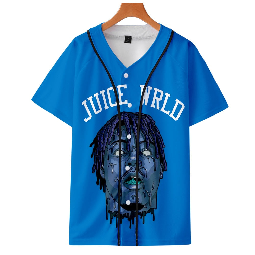 Rapper Juice WRLD Baseball Shirt
