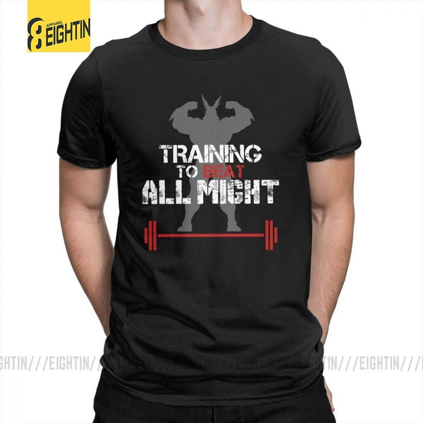 My Hero Academia Training To Beat All Might Mens T-Shirts