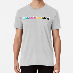 David's Vlog T Shirt By David Dobrik