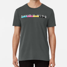 Load image into Gallery viewer, David's Vlog T Shirt By David Dobrik