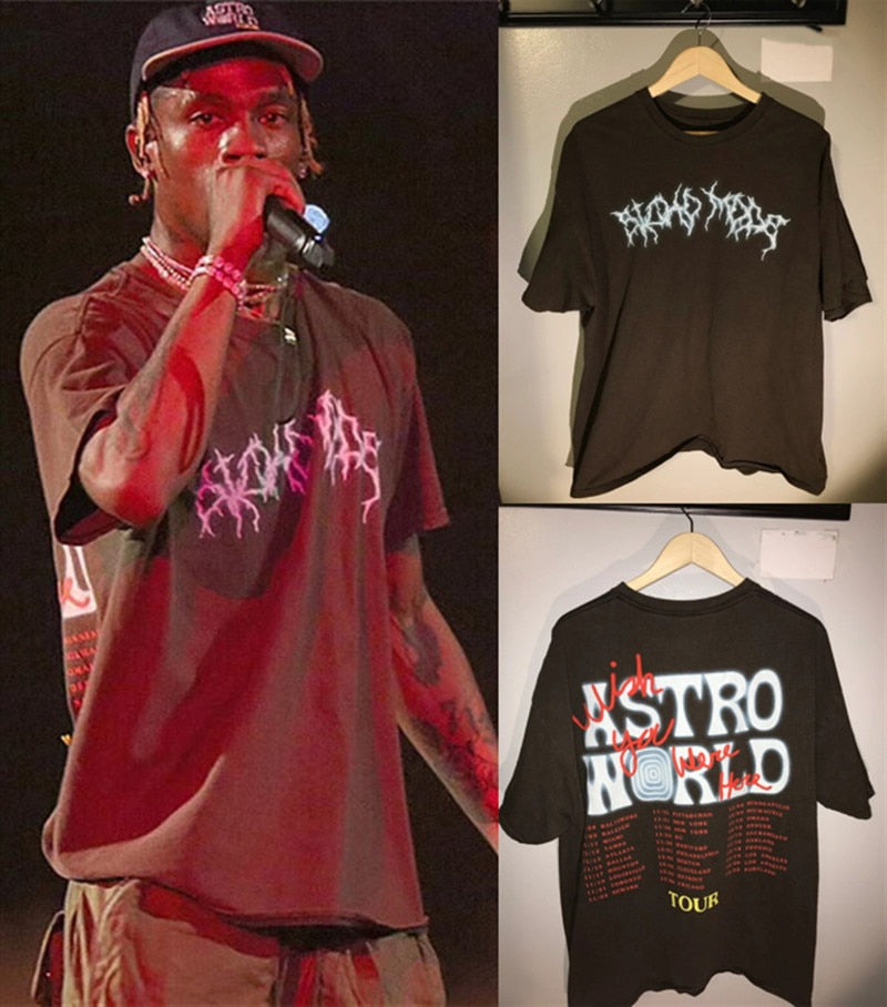 TRAVIS SCOTT Festival Pop Up Best Quality Shirt