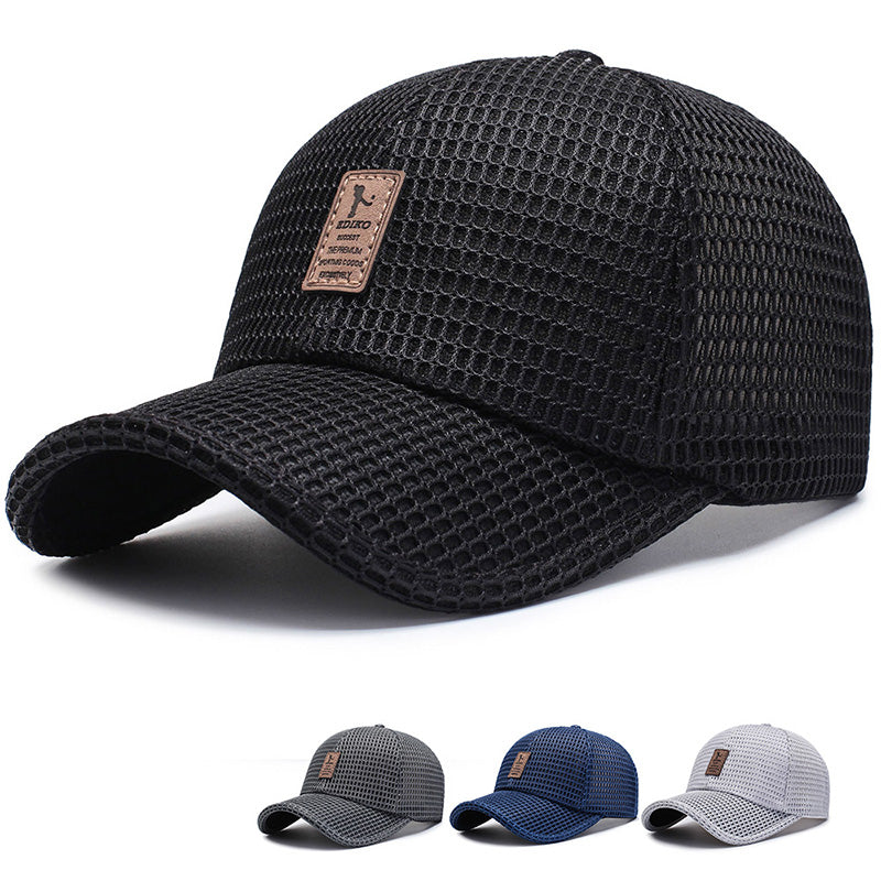 New Arrival Adult Unisex Mesh Baseball Caps Adjustable Cotton Breathable Comfortable Sunshade Sun Hat Snapback Caps Gorras - MillionMerch