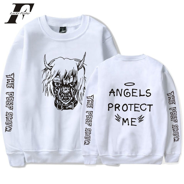 Lil Peep ANGELS PROTECT Sweatshirt