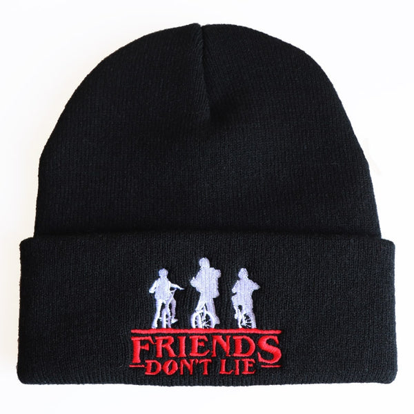 Friends Do Not Lie Stranger Things Beanie