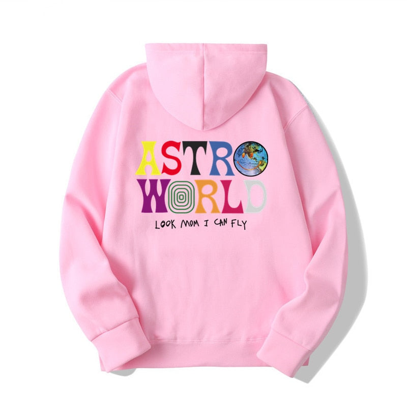 ASTROWORLD Look Mom I Can Fly Hoodie & Hip Hop Pullover Sweatshirt