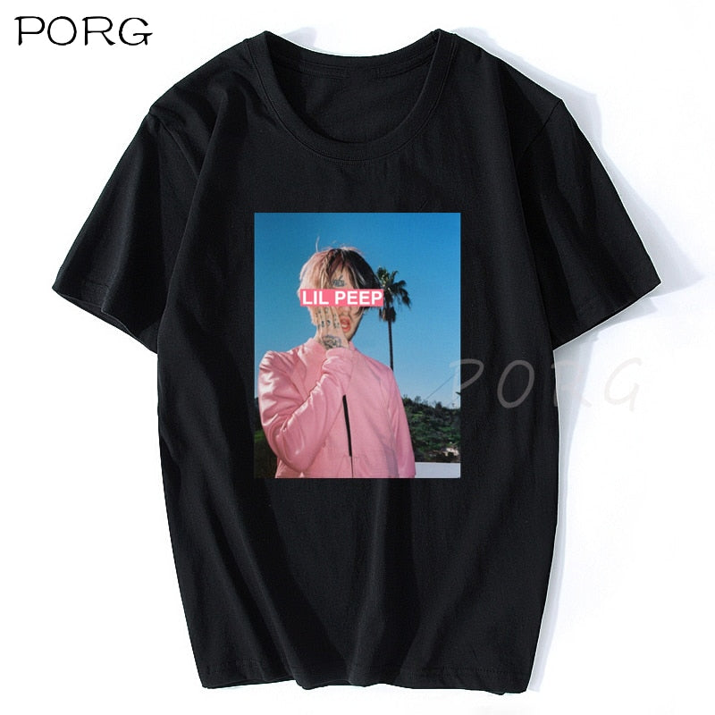 New Lil Peep Comfortable Cotton T Shirt