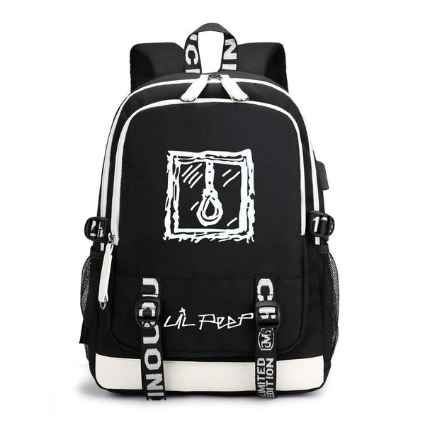 Lil Peep Backpack For Women And Man - MillionMerch