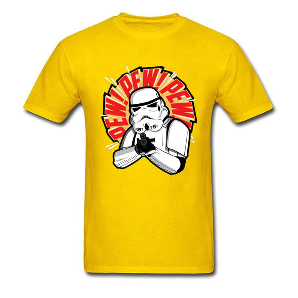 Funny Pewdie Mens T-shirt Star Wars