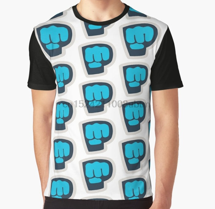 PewDiePie All Over 3D Print T Shirt - MillionMerch