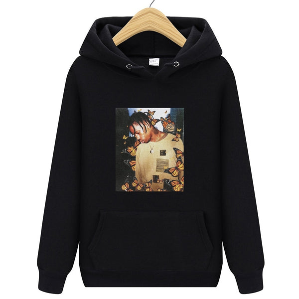 Travis Scott AstroWrld Butterfly Fashion pullover hip hop Hoodie