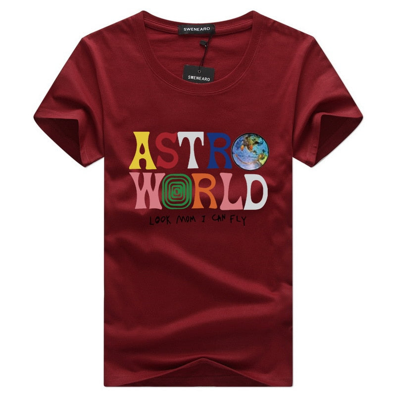 Astroworld Brand New Fashion Hip Hop T Shirt