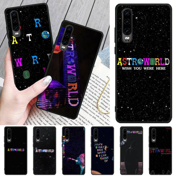 Travis Scott Astroworld Phone Cases For Huawei