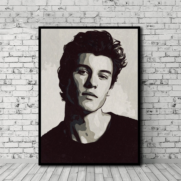 Shawn Mendes Hot Oil Painting Picture For Room Home Decor