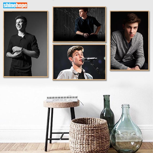 Shawn Mendes Wall Poster Art Home Decoration