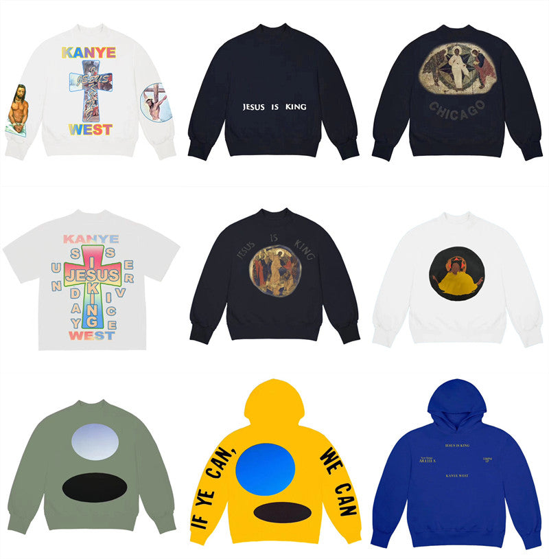 Best-Quality Kanye West Printed Sweatshirts - MillionMerch