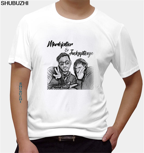 Men Markiplier and Jacksepticeye Fashion Hipster - MillionMerch