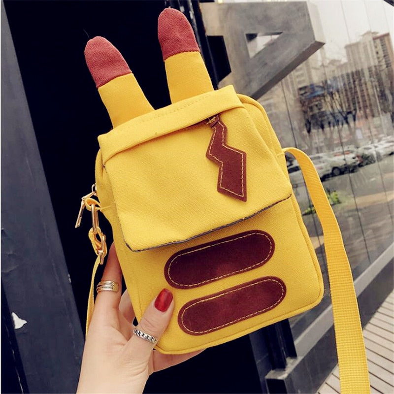New Arrival Anime Pikachu Cute Shoulder Bag