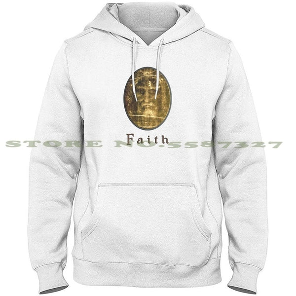 Shroud Of Turin Tablet Faith Hoodie
