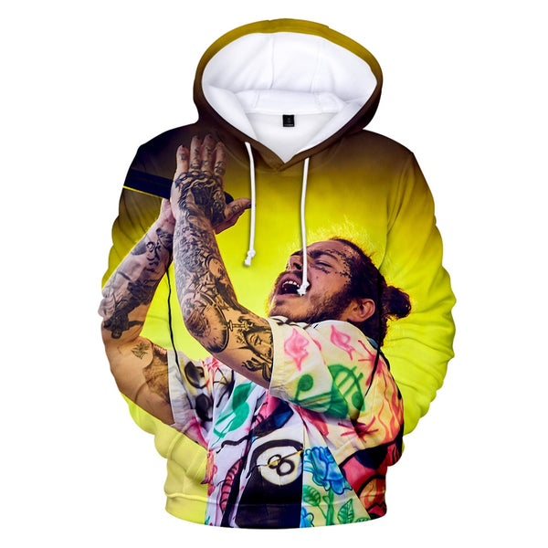 Post Malone 3D Hoodie