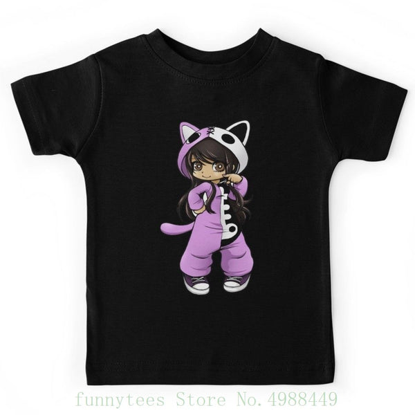 Aphmau A Cat Kid's T Shirts