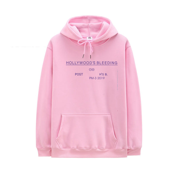 New Arrivals Hollywood'S Bleeding Post Malone Hoodie