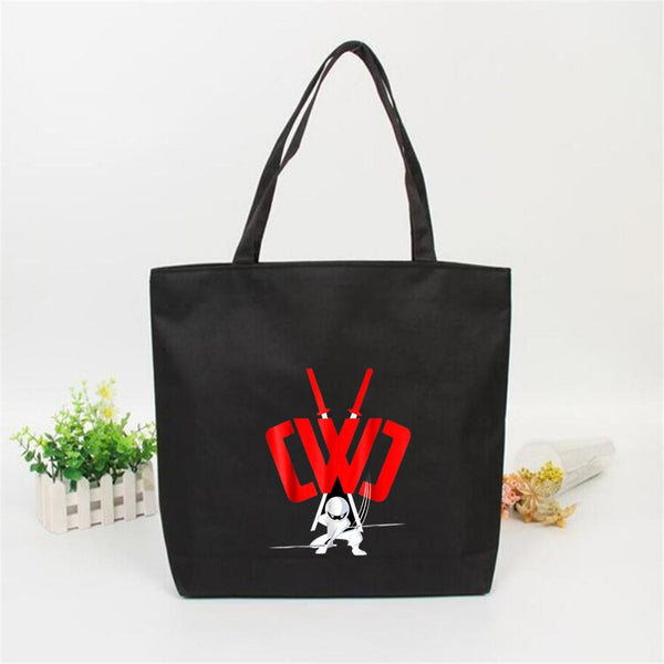 Anime CWC Printed Cartoon Tote shopping Bag