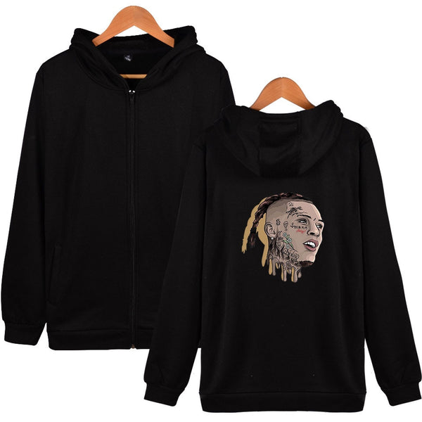 Lil Skies Long Sleeve Zipper Hoodie