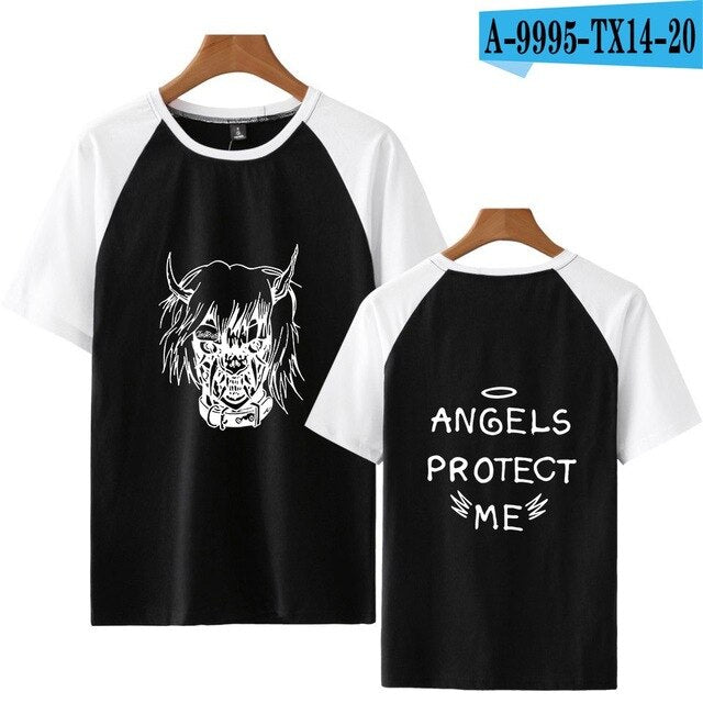 New Lil Peep ANGELS PROTECT ME T-shirt