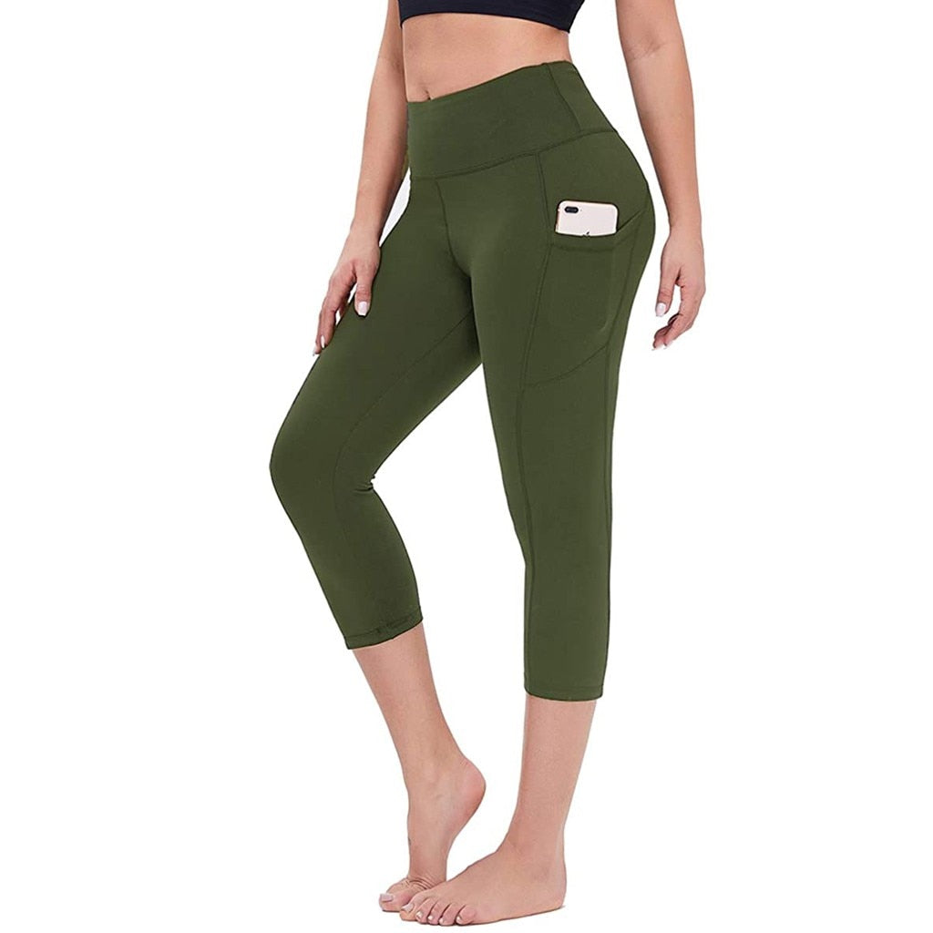 Women Stretch Gym Sports Legging Pant
