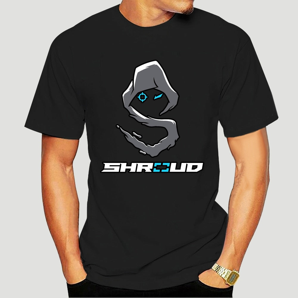 New Shroud Gaming T Shirt Men/Women