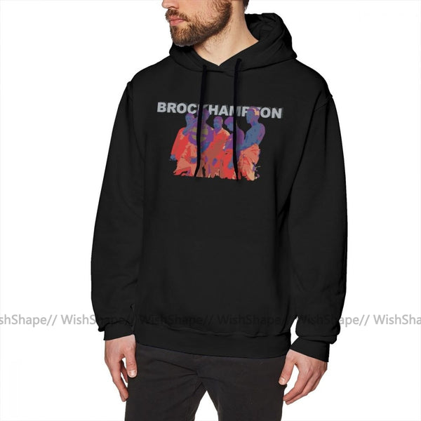 Brockhampton Male Long Pullover Hoodie