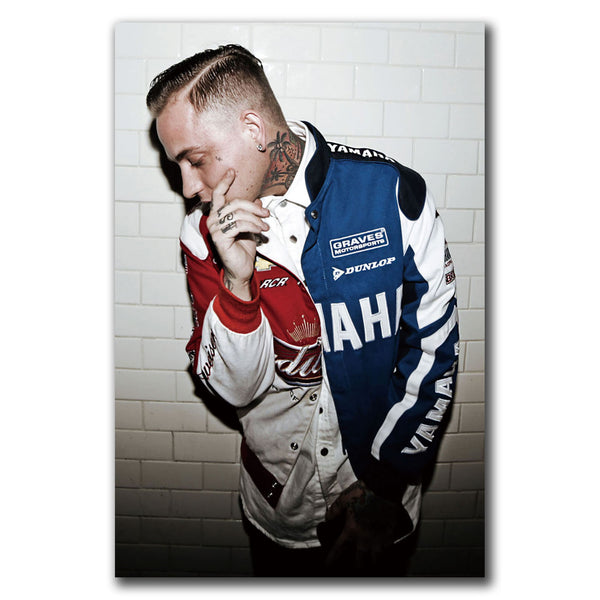 Blackbear Rapper Hip Hop Art Canvas Poster