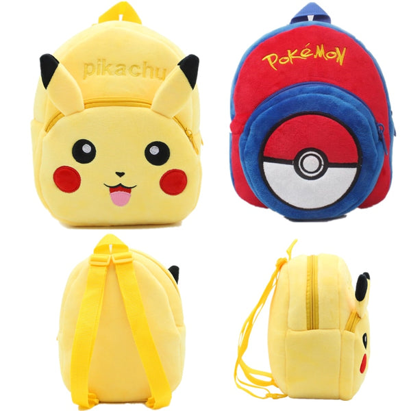 Pokemon Toy Pikachu Plush Mini School Backpack