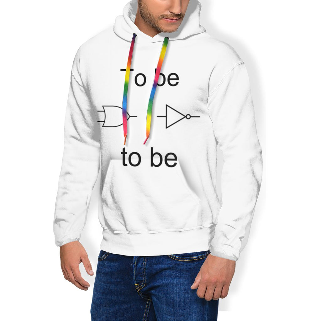 Logic Hoodie - To Be Or Not To Be - Pullover Hoodie