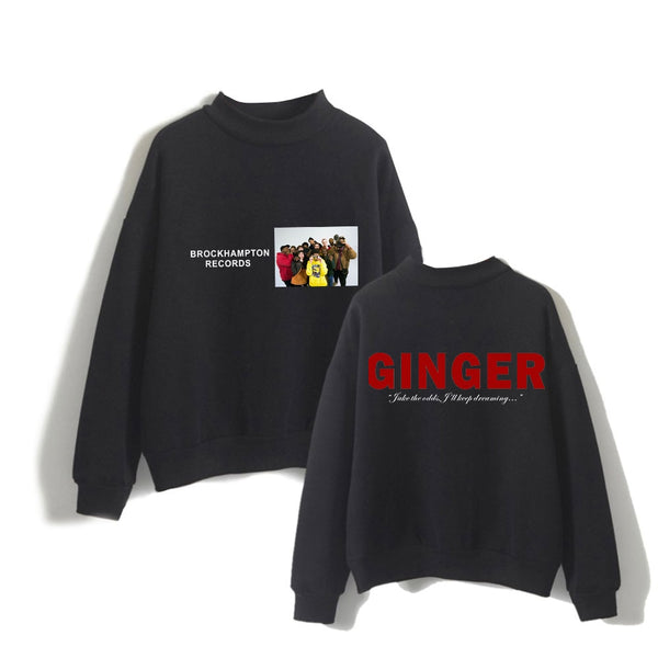 Brockhampton Ginger Turtleneck Sweatshirt