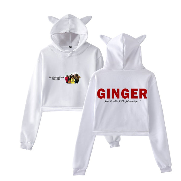 Brockhampton Ginger Women's Cat Ear Hoodie