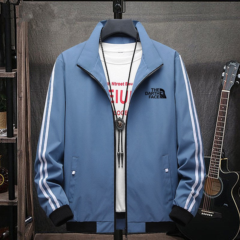 Men Street Windbreaker Zipper Casual Jacket