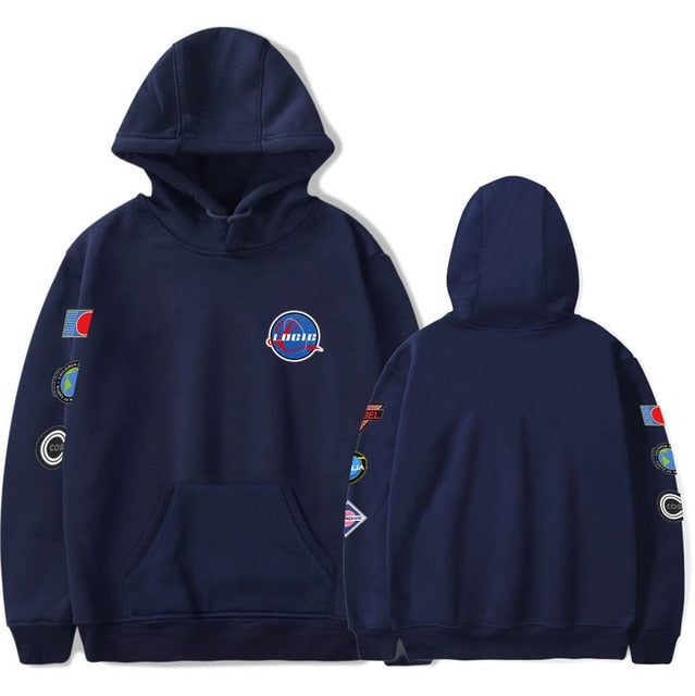 Logic Nasa Space Patches Hoodie