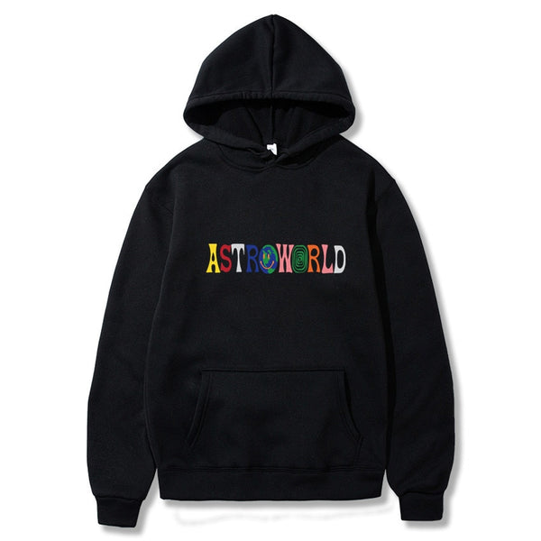 ASTROWORLD Lettering  Fashion Men Hoodie
