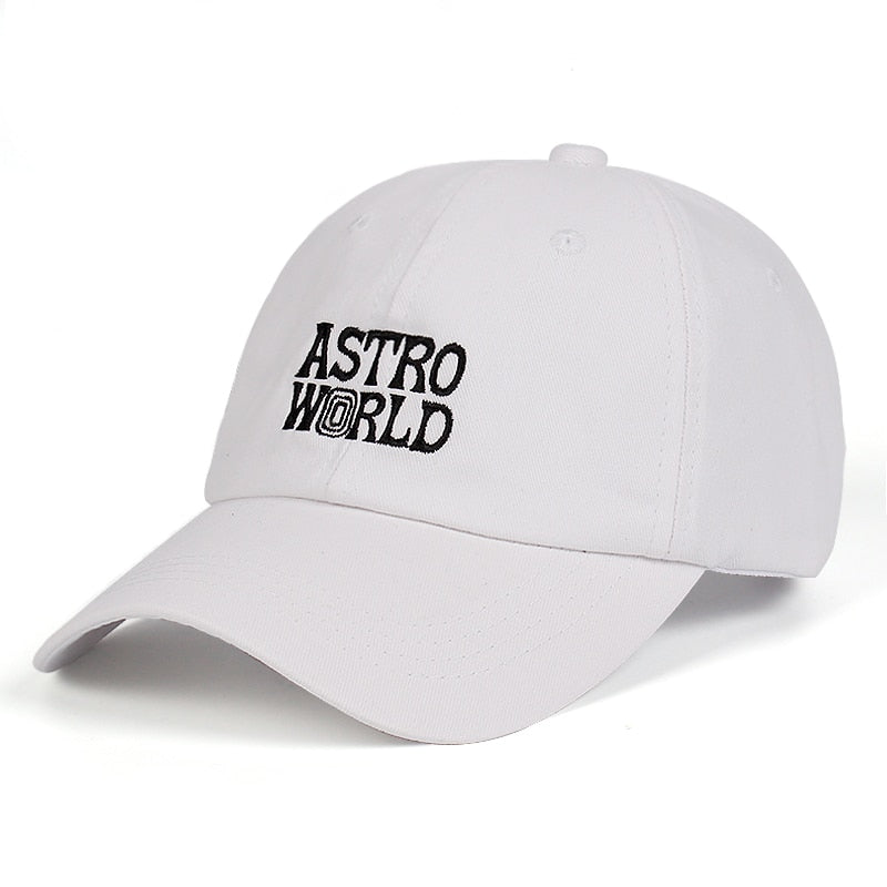 Travi$ Scott ASTROWORLD latest Dad Hat 100% Cotton embroided Snapback