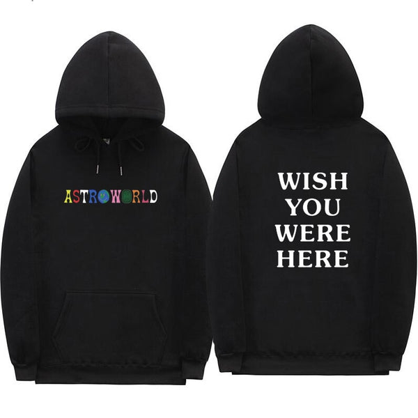 New Arrive Wish You Were Here Astroworld Pullover Hoodie