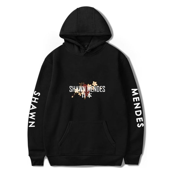 Shawn Mendes Printed Hip Hop Sweatshirt Pullover Hoodie - MillionMerch