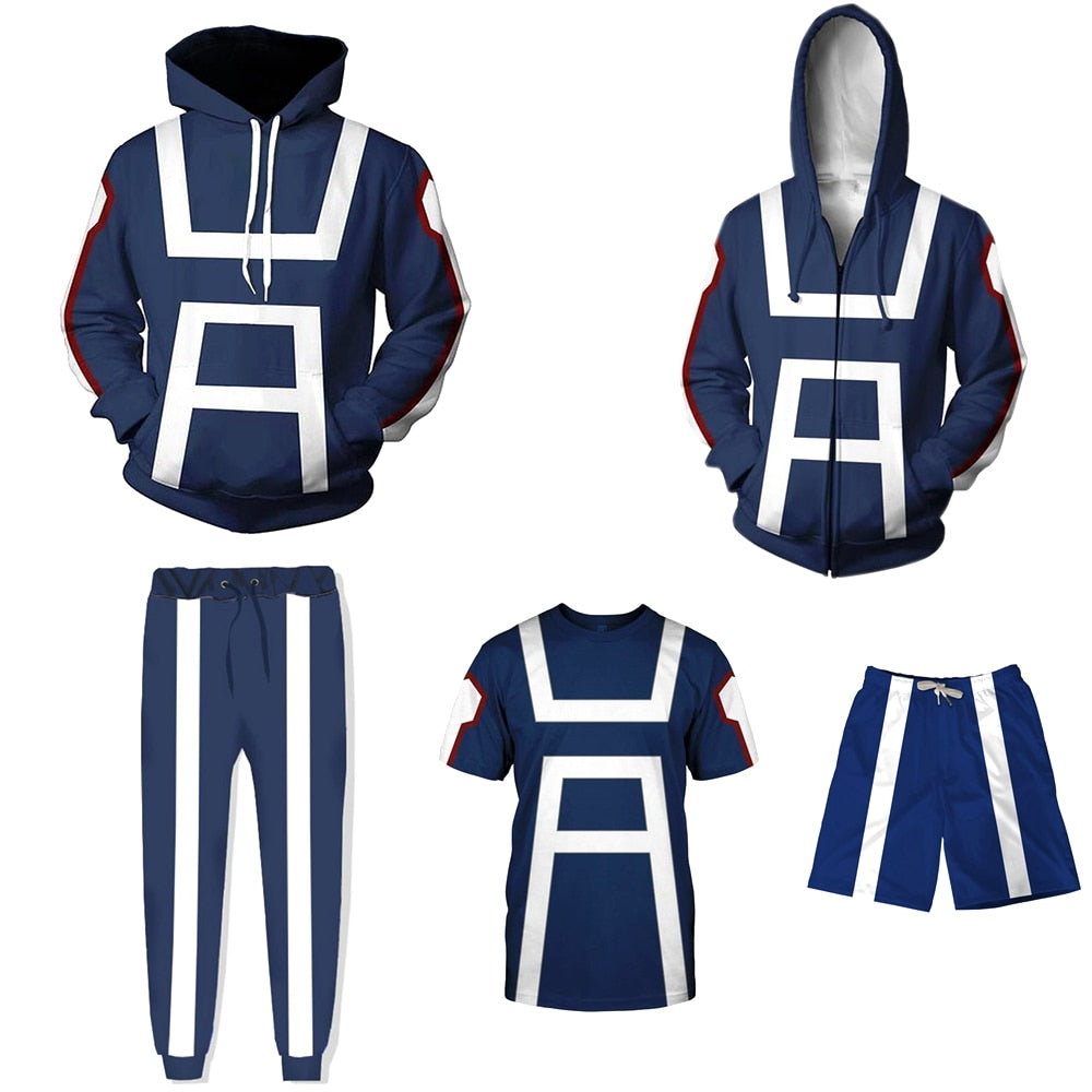 My Hero Academia Cosplay Costume Sweatshirt, Hoodies &  Jacket