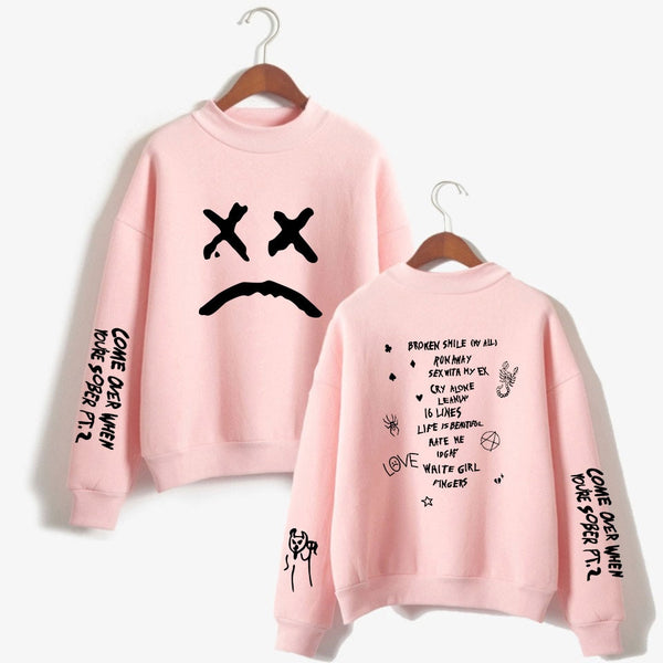 Lil Peep Sad Face Sweatshirt