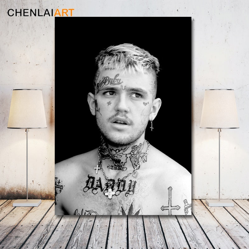 Lil Peep Canvas Painting Modern Decorative Wall Art Posters - MillionMerch