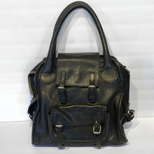Load image into Gallery viewer, Chloe Black Leather Purse