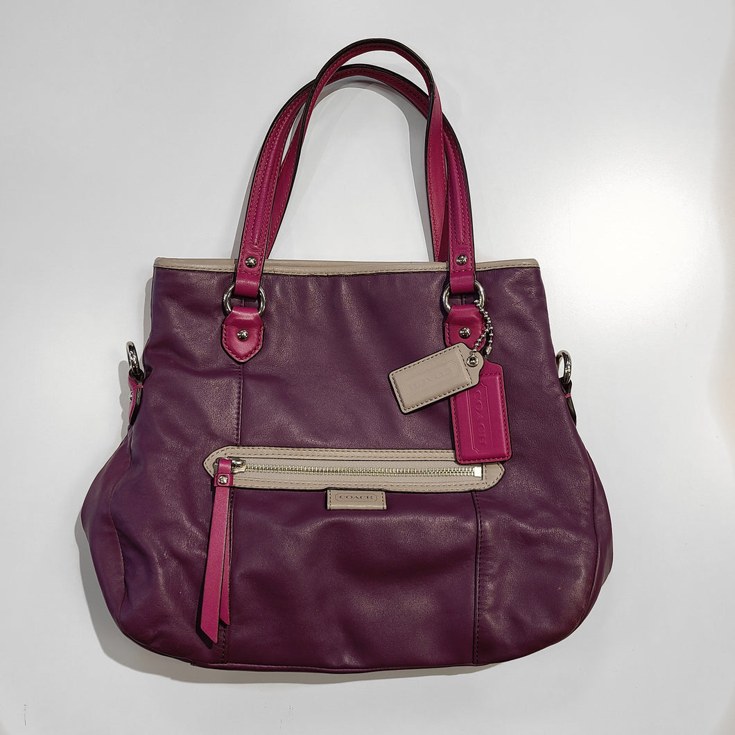 Coach Pink and Purple Purse