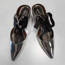 Load image into Gallery viewer, Proenza Schouler Silver Heels