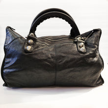 Load image into Gallery viewer, Balenciaga Black Leather Purse