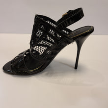 Load image into Gallery viewer, Louis Vuitton Mesh Peep Toe Heels